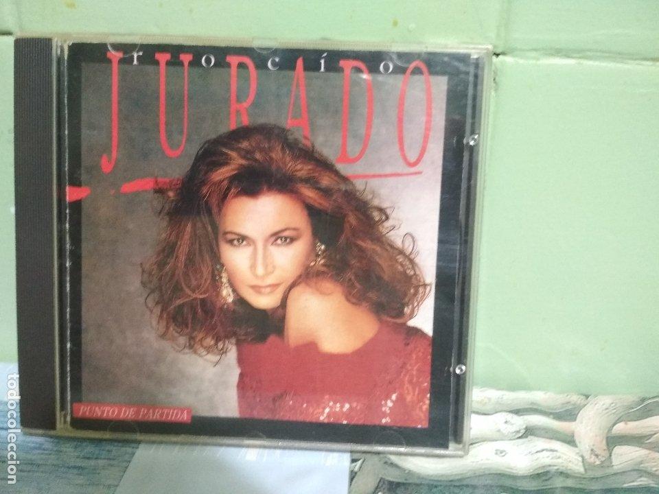 ROCIO JURADO (PUNTO DE PARTIDA) CD 1989 - 1ª EDICIÓN SIN CODIGO DE BARRAS PEPETO (Música - CD's Flamenco, Canción española y Cuplé)