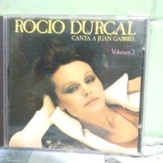 CDs de Música: ROCIO DURCAL - CANTA A JUAN GABRIEL, VOL. 2 - CD ALBUM 1990 . Lote 175947433