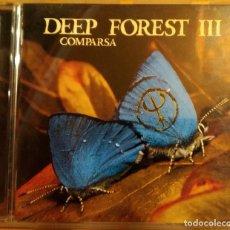 CDs de Música: CD DEEP FOREST III – COMPARSA , EU 1998, SAINT GEORGE – SAN 488725-2, MUY BIEN (EX_EX). Lote 175953569