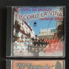 CDs de Música: LOTE 2 CD COROS 2006 Y 2007 CARNAVAL CÁDIZ. Lote 175990862