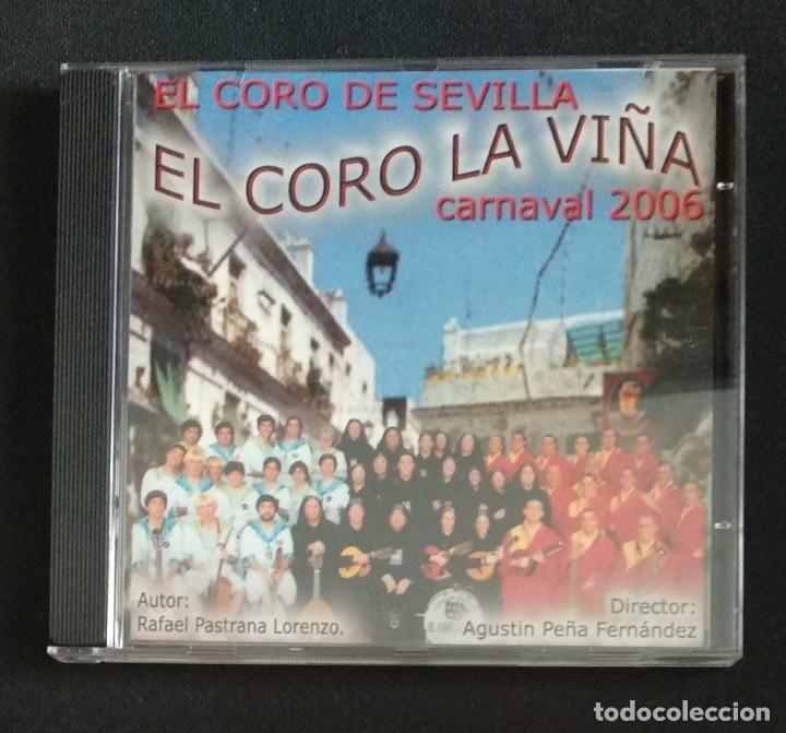 CDs de Música: Lote 2 CD coros 2006 y 2007 CARNAVAL CÁDIZ - Foto 2 - 175990862