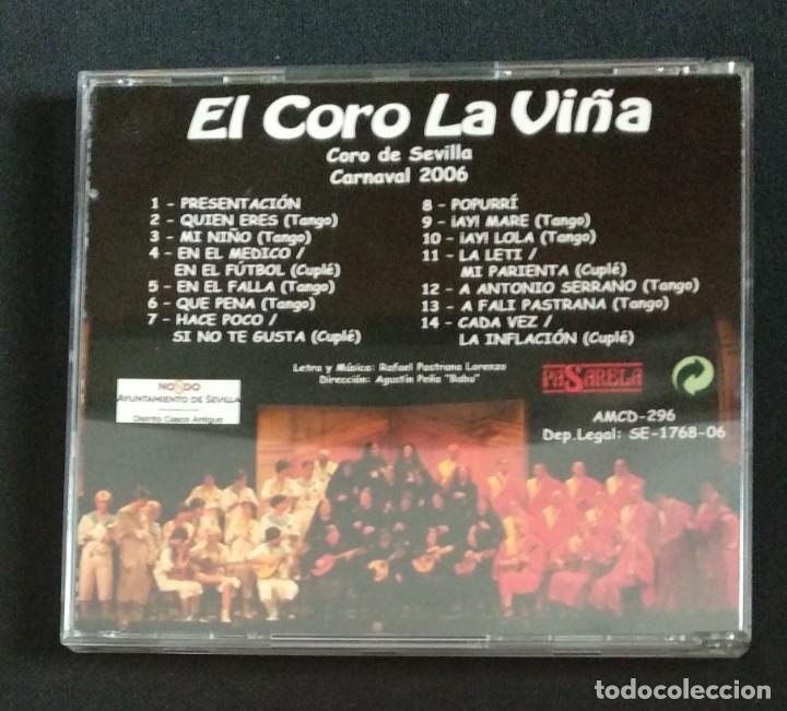 CDs de Música: Lote 2 CD coros 2006 y 2007 CARNAVAL CÁDIZ - Foto 3 - 175990862