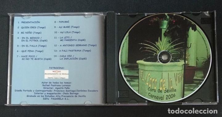 CDs de Música: Lote 2 CD coros 2006 y 2007 CARNAVAL CÁDIZ - Foto 4 - 175990862