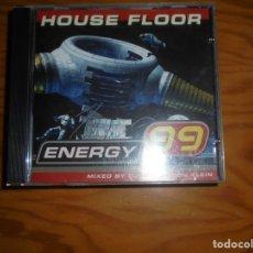 CDs de Música: DJ EDX & LEON KLEIN. ENERGY 99. HOUSE FLOOR. EDT. SUIZA. CD. IMPECABLE (#). Lote 199658060
