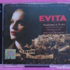 CDs de Música: B.S.O. EVITA - 2 CD'S 1996 - MADONNA. Lote 176015594