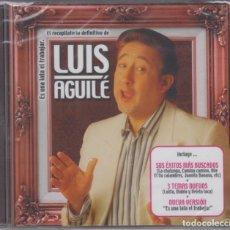 CDs de Música: LUIS AGUILÉ CD ES UNA LATA EL TRABAJAR 2003 EL RECOPILATORIO DEFINITIVO (PRECINTADO). Lote 176051120