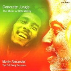 CDs de Música: BOB MARLEY - CONCRETE JUNGLE THE MUSIC OF BOB MARLEY - CD . Lote 176074764
