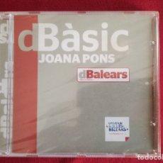 CDs de Música: JOANA PONS - DBASIC - CANÇONS DE MENORCA - PRECINTAT. Lote 176088827