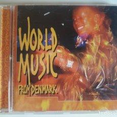 CDs de Música: CD WORLD MUSIC FROM DENMARK. Lote 176091872