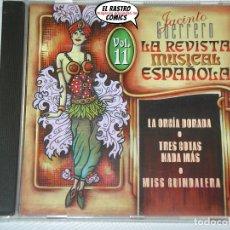 CDs de Música: LA REVISTA MUSICAL ESPAÑOLA VOL. Nº 11, CD. Lote 176124633