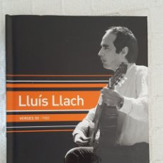 CDs de Música: CD LIBRO / LLUÍS LLACH / VERGES 50 / 1980 / NUEVO. Lote 176126714