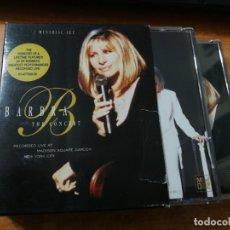 CDs de Música: BARBRA STREISAND THE CONCERT 2 MINIDISC DEL AÑO 1994 BOX SET MINI DISC NO CD CONTIENE 28 TEMAS. Lote 176127445