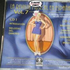 CDs de Música: LA REVISTA MUSICAL EN ESPAÑA VOL. Nº 7, DOBLE CON DOS CD. Lote 176130327