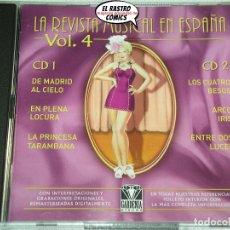 CDs de Música: LA REVISTA MUSICAL EN ESPAÑA VOL. Nº 4, DOBLE CON DOS CD. Lote 176130497