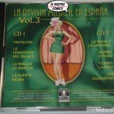 CDs de Música: LA REVISTA MUSICAL EN ESPAÑA VOL. Nº 3, DOBLE CON DOS CD. Lote 176130612