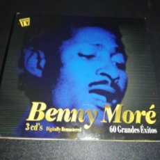 CDs de Música: BENNY MORE, 60 GRANDES EXITOS, 3 CD'S. Lote 176144844