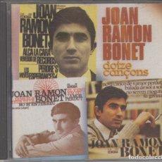CDs de Música: JOAN RAMON BONET CD DOTZE CANÇONS 1996 SETZE JUTGES MARIA DEL MAR BONET. Lote 176157034