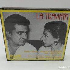 CDs de Música: CD OPERA - LA TRAVIATA VERDI / CALLAS 2CDS - MARIA CALLAS · GIUSEPPE DI STEFANO. Lote 176162568