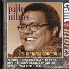 CDs de Música: PABLO MILANÉS LAS MEJORES CANCIONES . Lote 176165737