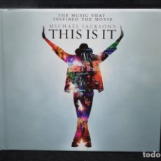 CDs de Música: MICHAEL JACKSON - THE MUSIC THAT INSPIRED THE MOVIE ( MICHAEL JACKSON'S THIS IS IT) - CD. Lote 176167415