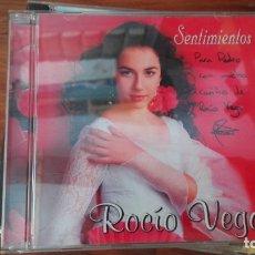 CDs de Música: ROCIO VEGA. CD. SELLO ACM RECORDS . EDITADO EN ESPAÑA. AUTOBIOGRAFIADO. Lote 176169230