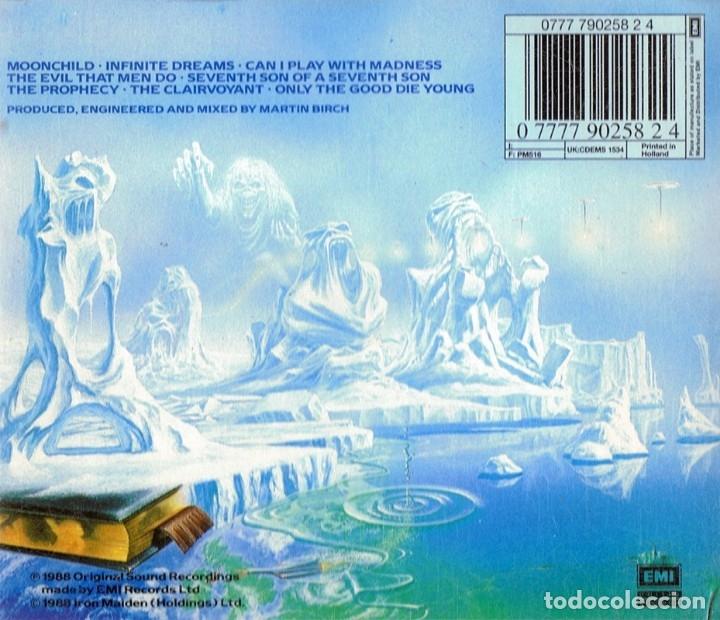 CDs de Música: IRON MAIDEN SEVENTH SON OF A SEVENTH SON - Foto 2 - 176169445