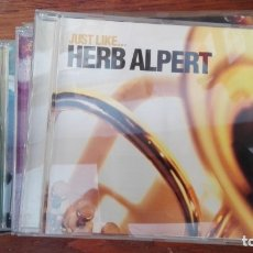 CDs de Música: CD HERB ALPERT JUST LIKE. Lote 176170357