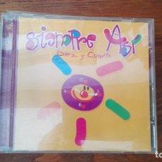 CDs de Música: CD ALBUM / SIEMPRE ASI / DIEZ Y CUARTO.. Lote 176170633
