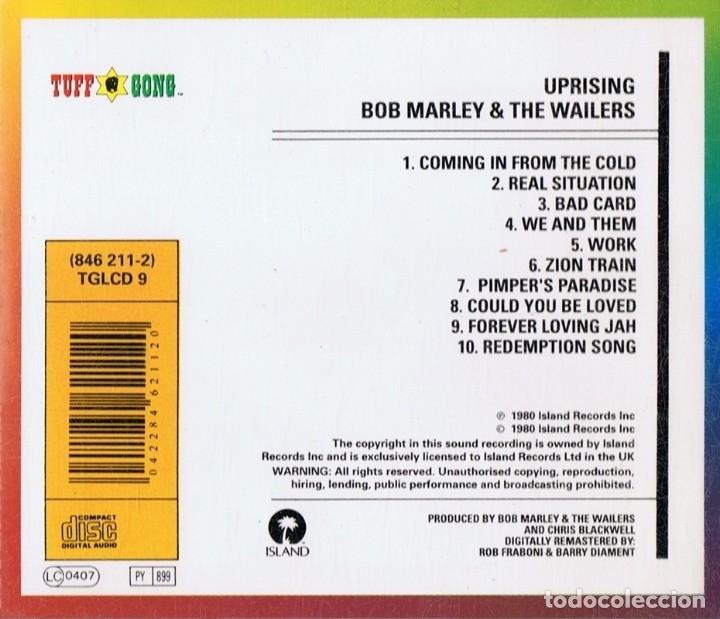 CDs de Música: BOB MARLEY & THE WAILERS UPRISING - Foto 2 - 176173605