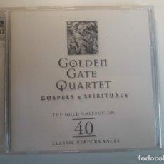 CDs de Música: 2 CD GOLDEN GATE QUARTET - GOSPELS AND SPIRITUALS. Lote 176188000