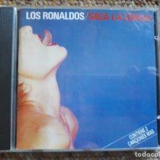 CDs de Música: LOS RONALDOS , SACA LA LENGUA CD 1988 , 1A EDICIÓN REF: CD7913592 SIN CODIGO BARRAS , IMPECABLE . Lote 176191404