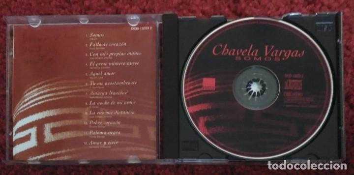 CDs de Música: CHAVELA VARGAS (SOMOS) CD 1996 - Foto 3 - 176197872