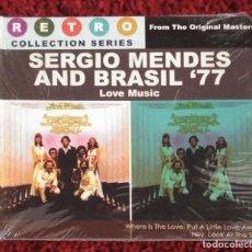 CDs de Música: SERGIO MENDES AND BRASIL '77 (LOVE MUSIC) CD 2008 EDICION FILIPINAS. Lote 176203789