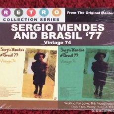 CDs de Música: SERGIO MENDES AND BRASIL '77 (VINTAGE 74) CD 2008 EDICION FILIPINAS. Lote 176203937