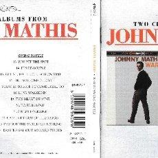 CDs de Música: JOHNNY MATHIS - WARM / SWING SOFTLY. Lote 176205250