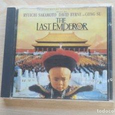 CDs de Música: BSO -CD THE LAST EMPEROR / EL ÚLTIMO EMPERADOR - SAKAMOTO / BYRNE / CONG SU VIRGIN 1987. Lote 176210159