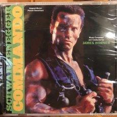 CDs de Música: COMMANDO - MUSICA DE JAMES HORNER - VARESE CD CLUB - BSO PRECINTADO. Lote 176216775