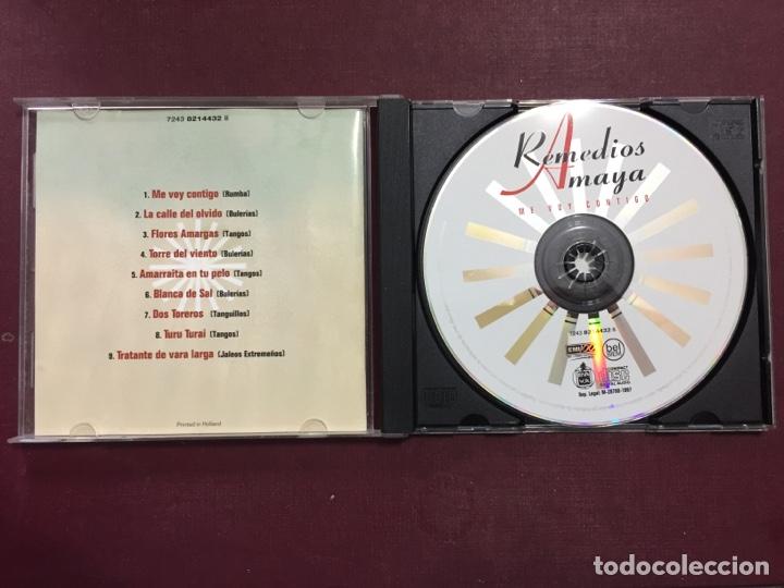CDs de Música: Remedios Amaya/ Me voy contigo. - Foto 2 - 289688698