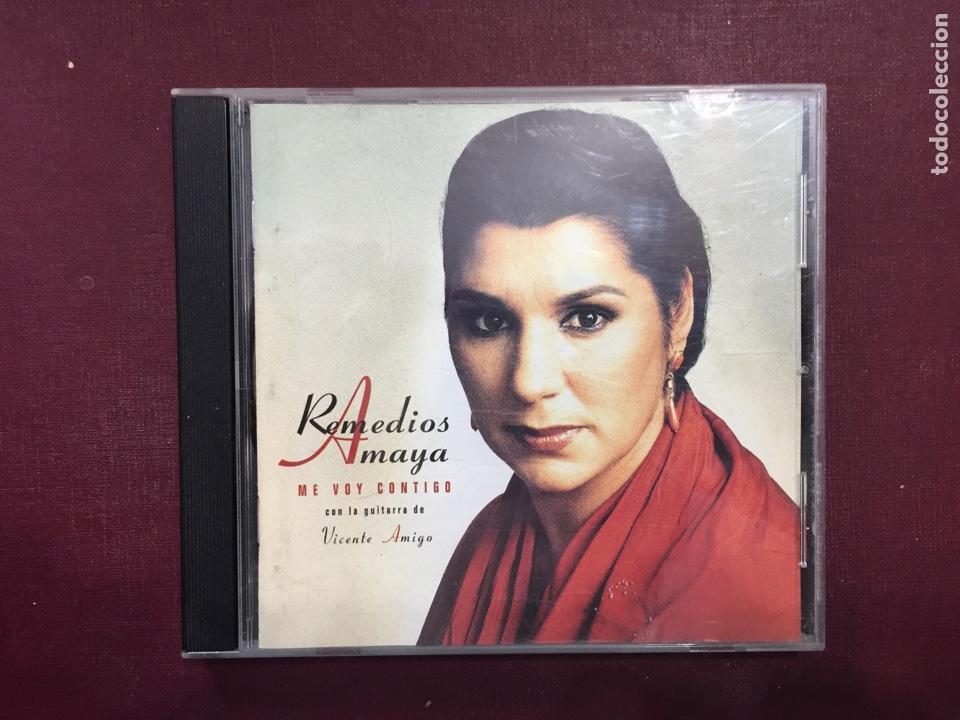 REMEDIOS AMAYA/ ME VOY CONTIGO. (Música - CD's Flamenco, Canción española y Cuplé)