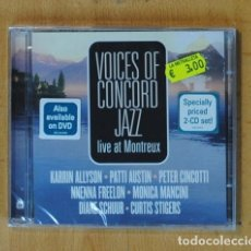 CDs de Música: VARIOS - VOICES OF CONCORD JAZZ LIVE AT MONTREUX - CD. Lote 176242295