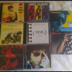 CDs de Música: ANDRÉS CALAMARO DISCOGRAFÍA 8CDS LOS RODRÍGUEZ. Lote 176255527