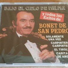 CDs de Música: BONET DE SAN PEDRO / BAJO EL CIELO DE PALMA / CD - PERFIL / 15 TEMAS / PRECINTADO.. Lote 176281488