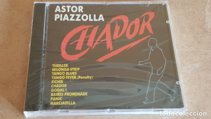 ASTOR PIAZZOLLA / CHADOR / CD - PERFIL / 10 TEMAS / PRECINTADO. (Música - CD's Latina)