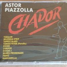 CDs de Música: ASTOR PIAZZOLLA / CHADOR / CD - PERFIL / 10 TEMAS / PRECINTADO.. Lote 176281718