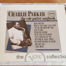 CDs de Música: CHARLIE PARKER / THE COLE PORTER SONGBOOK / CD - 12 TEMAS / CALIDAD LUJO.. Lote 176282257
