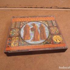 CDs de Música: DOBLE CD LAS MEJORES OBRAS DEL CANTO GREGORIANO. Lote 176296330
