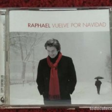 CDs de Música: RAPHAEL (VUELVE POR NAVIDAD) CD + DVD 2004. Lote 176299437