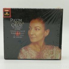 CDs de Música: CD OPERA MARIA CALLAS - PUCCINI TOSCA 2 CDS - DI STEFANO · GOBBI · DE SABATA. Lote 176313932