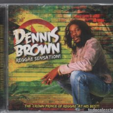 CDs de Música: DENNIS BROWN - REGGAE SENSATION ! / CD ALBUM DE 2010 RF-2871 , PRECINTADO. Lote 176319025