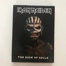 CDs de Música: IRON MAIDEN - THE BOOK OF SOULS - CD DOBLE PARLOPHONE 2015 - DIGIBOOK DELUXE EDITION. Lote 176323449